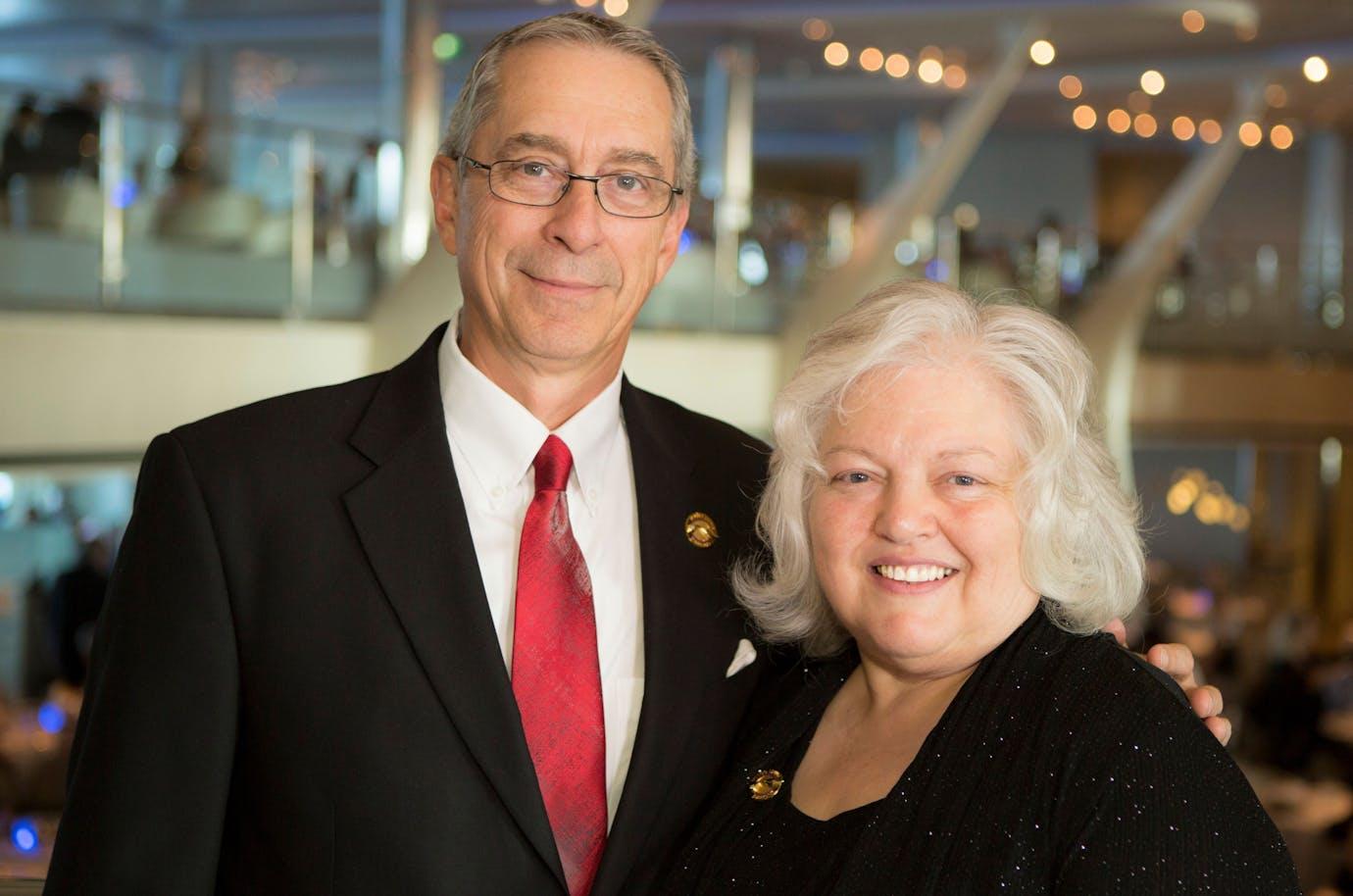 Top Contributors - Max and Karen Hopkins