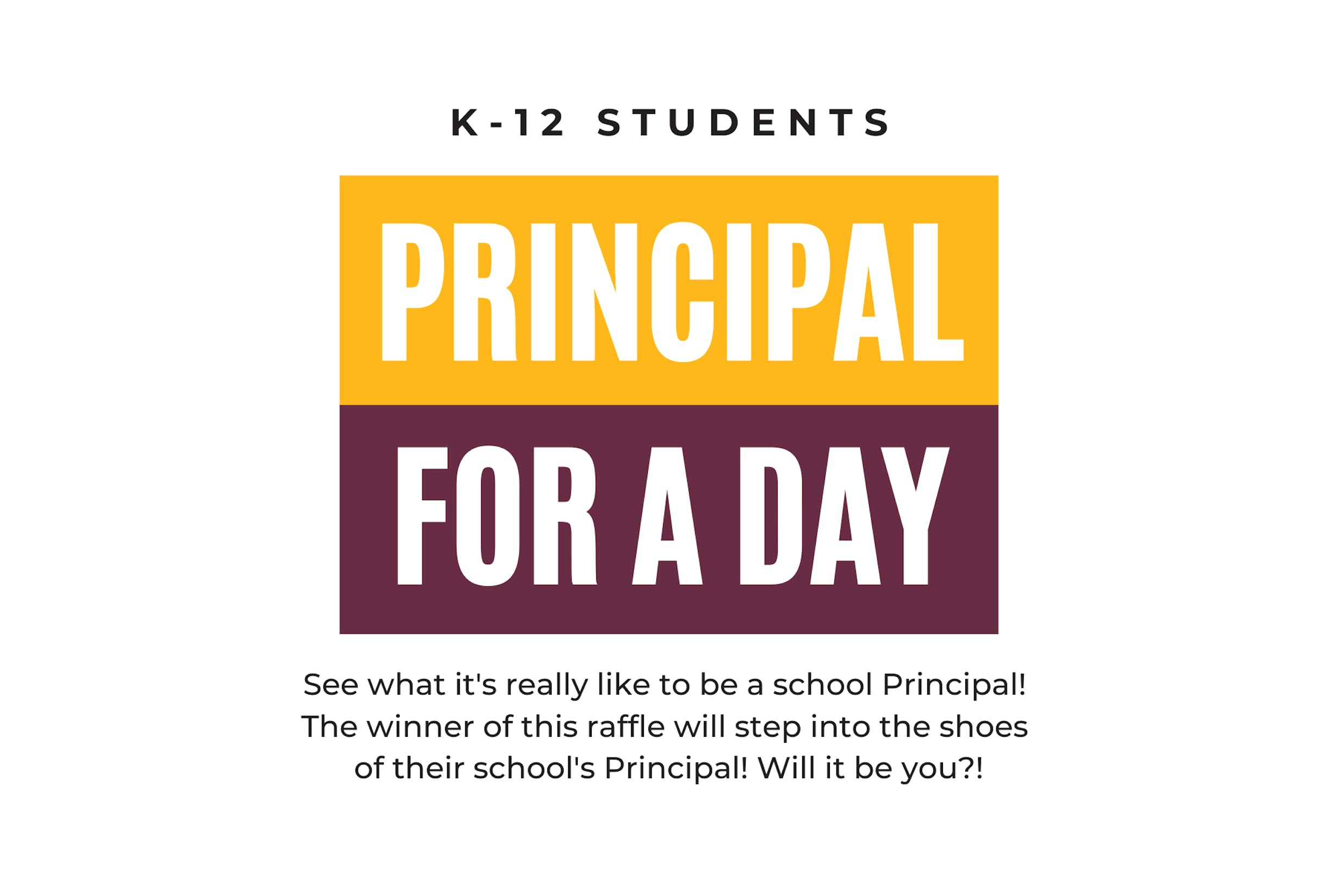 Principal for a Day Prize