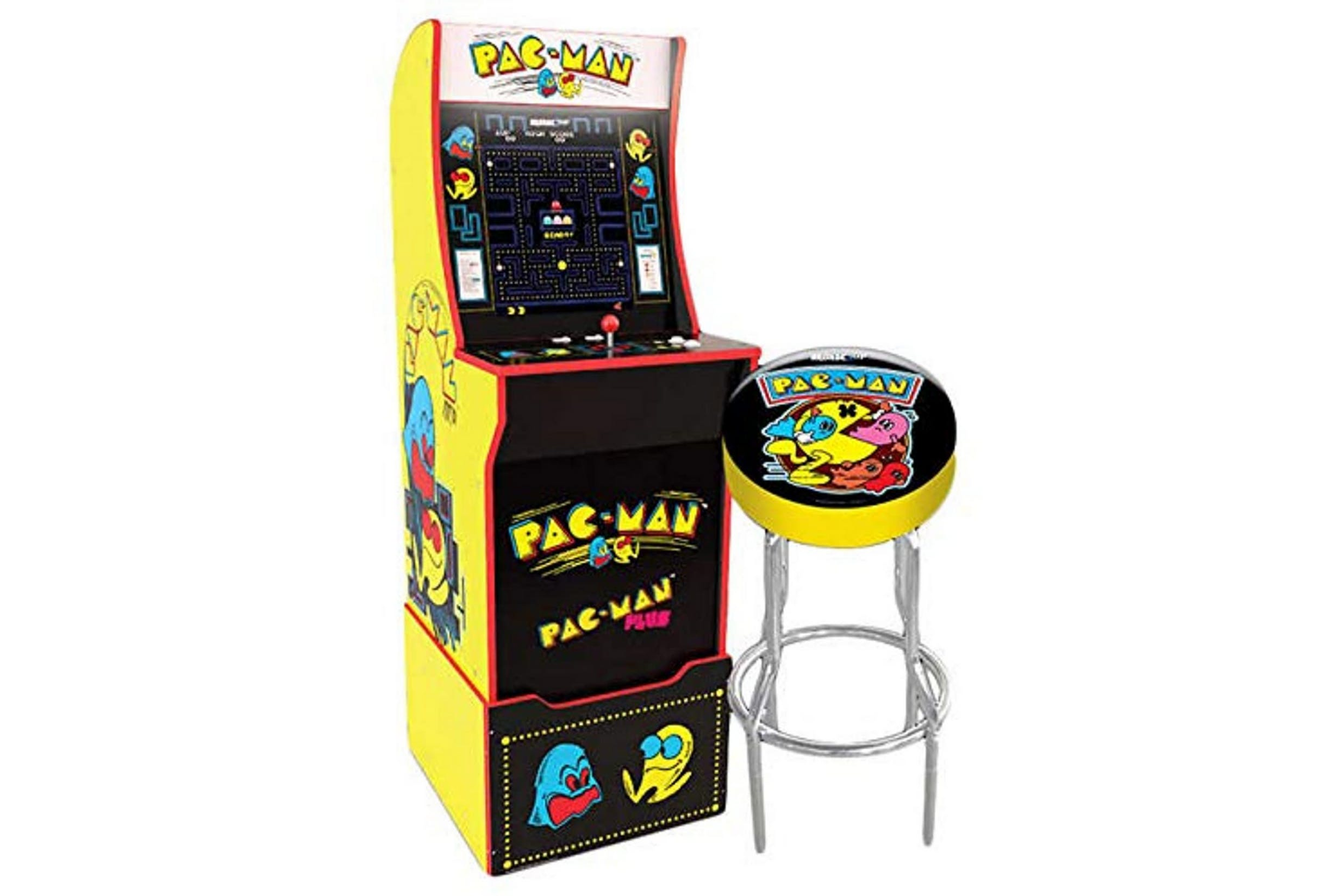 Pac Man Full Sized Arcade Game Prize