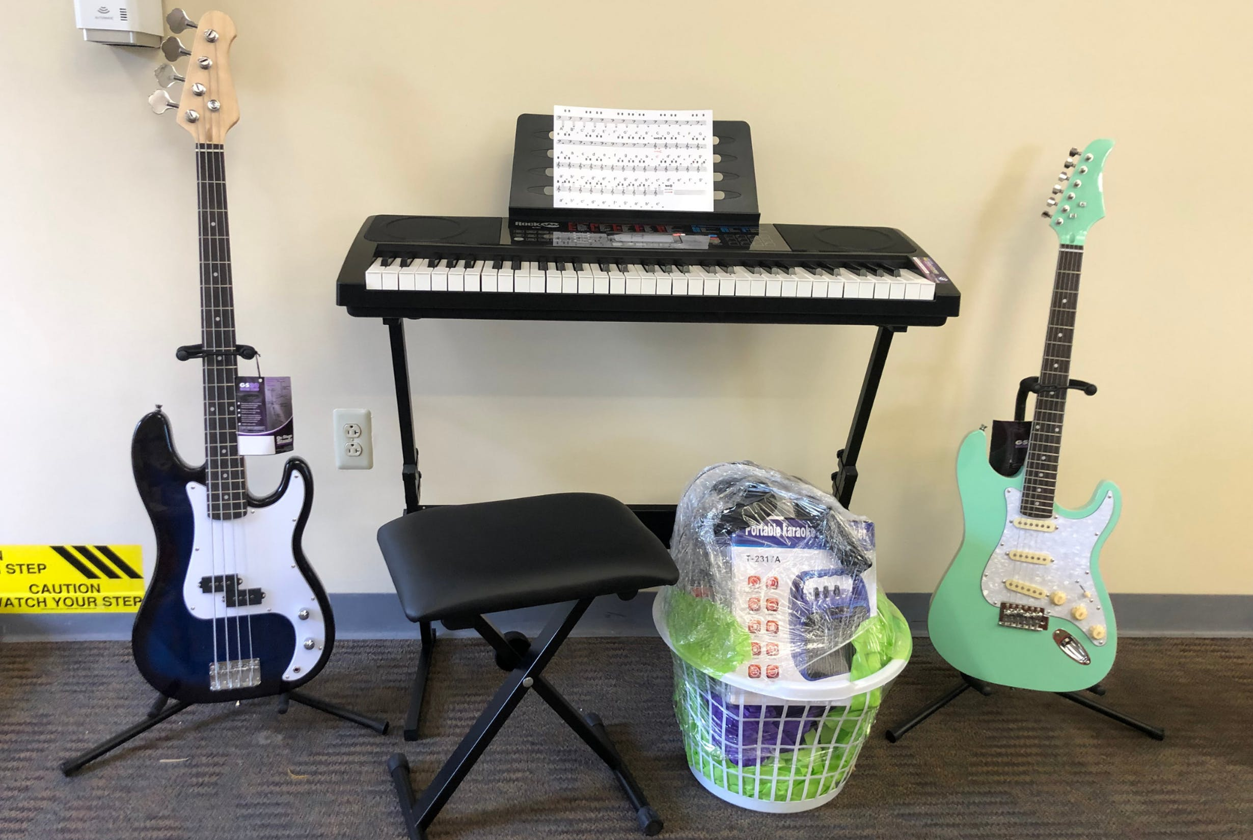 Band in a Basket Prize
