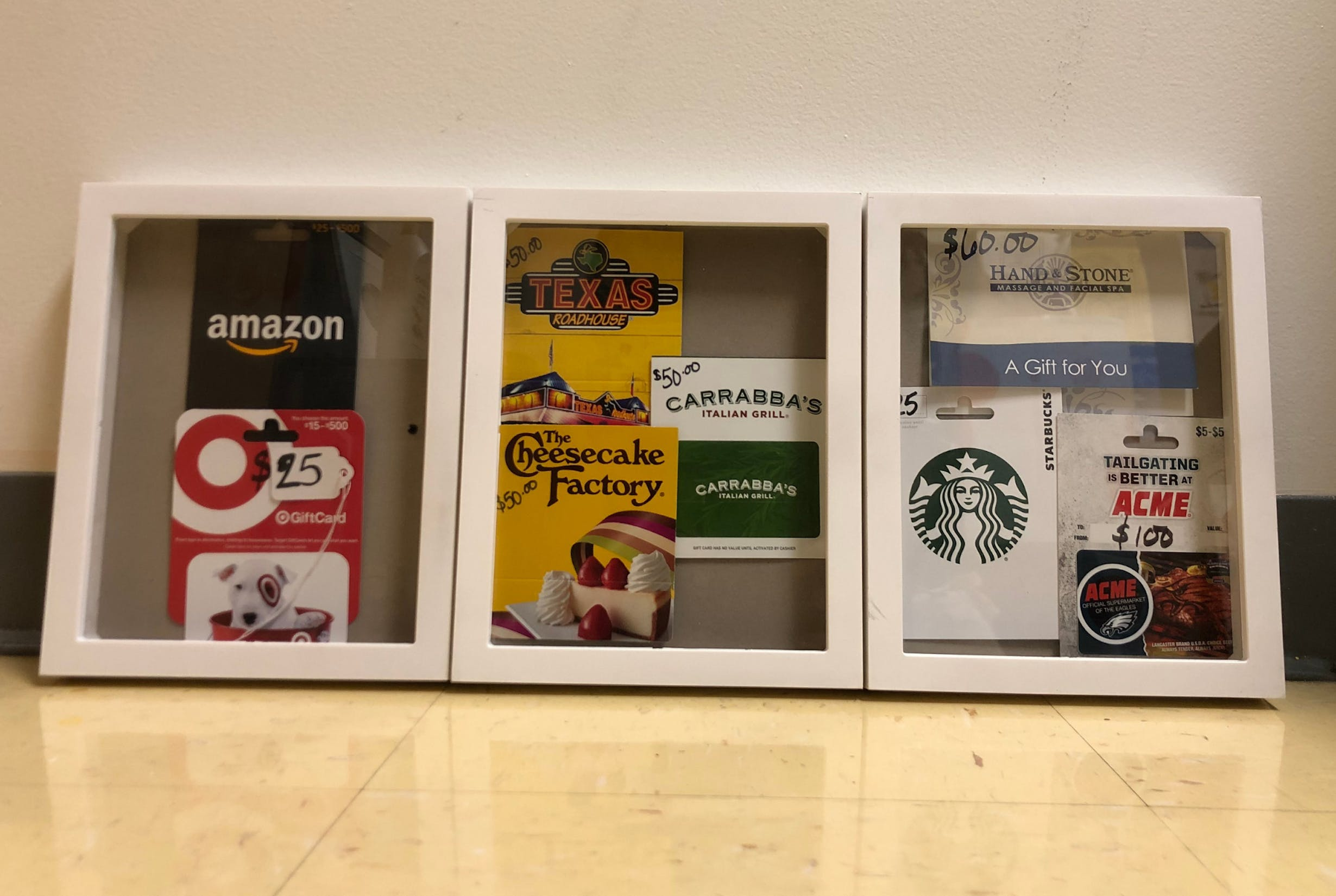 Gift Cards Galore Prize