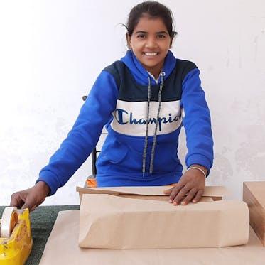 Asha Handicraft - I'm Preeti - Young Living Foundation Developing Enterprise