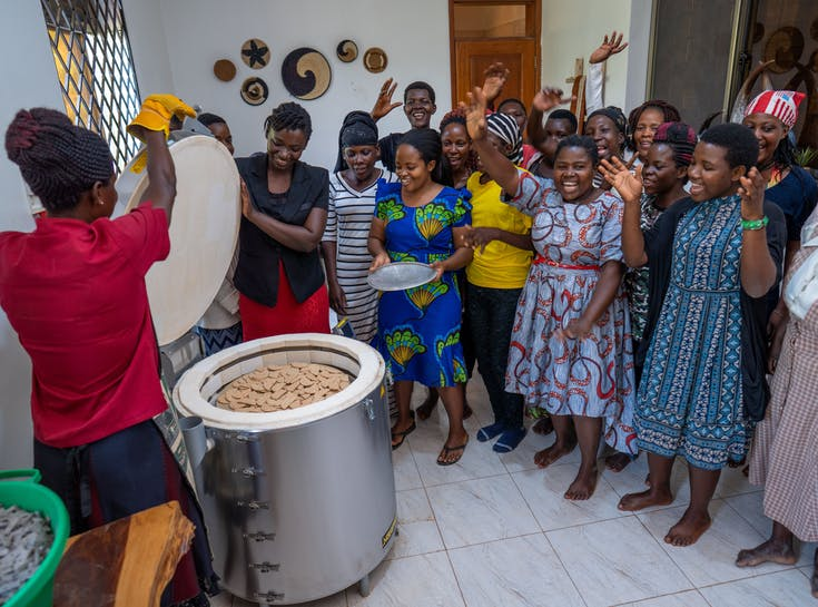 Capacity building grants create opportunities for female artisans